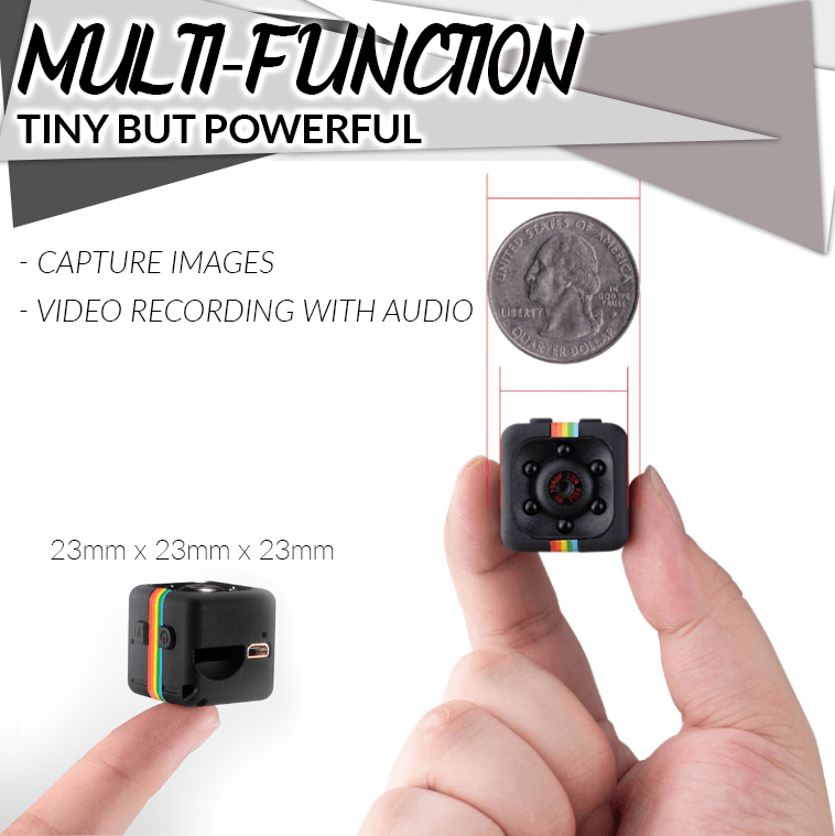 HD 1080P Wearable Mini Camera