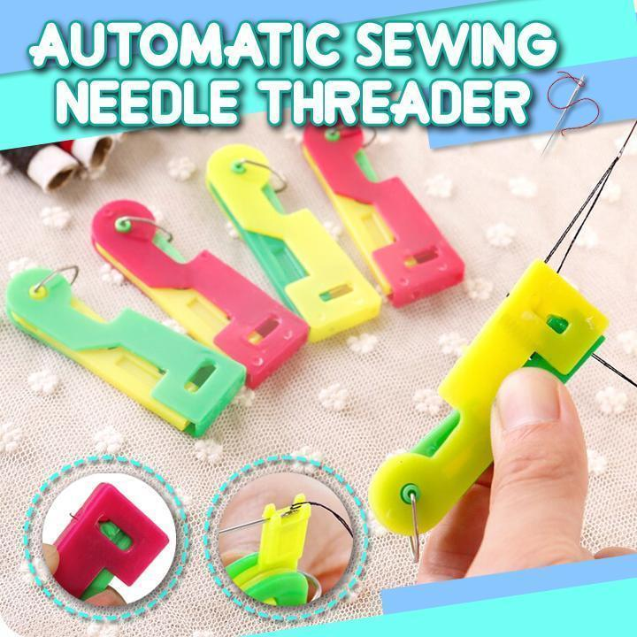 Automatic Sewing Needle Threader (3 Pcs)