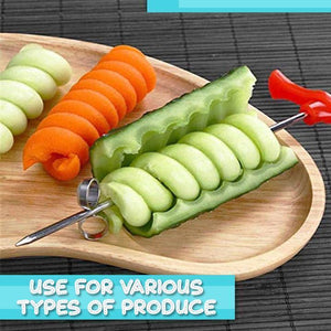 Vegetable Fruit Spiral Knife (2pc)