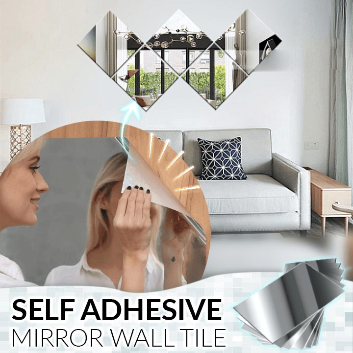 Self Adhesive Mirror Wall Tile