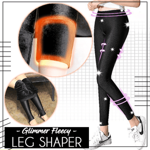 Cool Glimmer Fleecy Leg Shaper