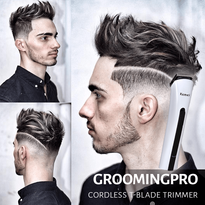 GroomingPro Cordless T-Blade Trimmer