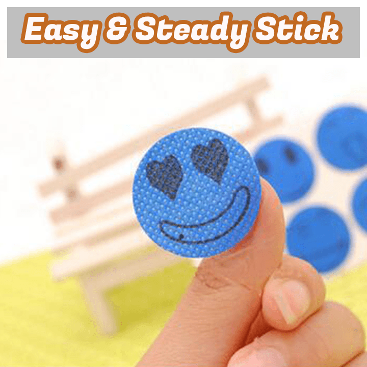 Smiley Mosquito Repellent Patch (60 pcs)