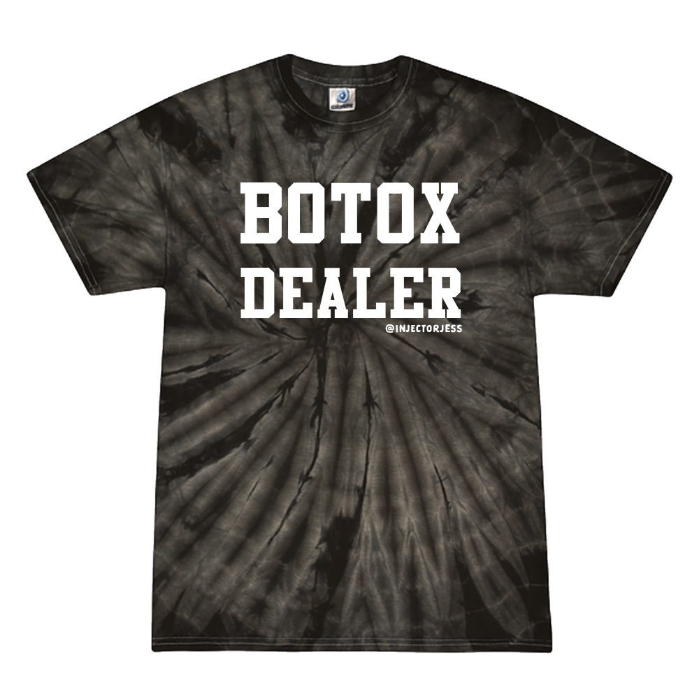 Botox Dealer Tie Dye T-Shirt