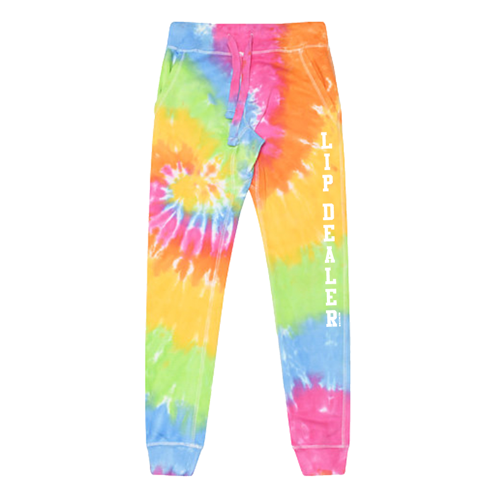 Lip Dealer Tie Dye Joggers