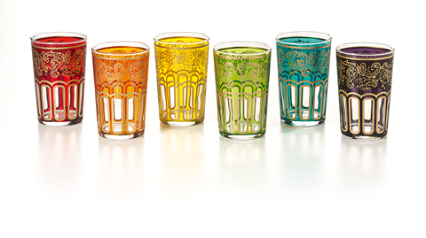 Moroccan Tea Glasses—Arches