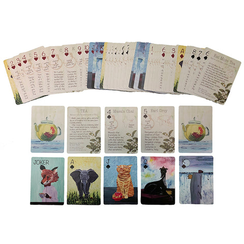 Tea Trivia Playing Cards