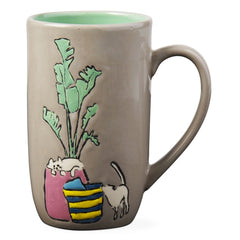 Cats and Plants Mug