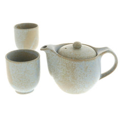 Gray Ceramic Tea Set