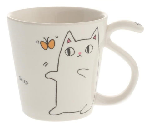 Happy Tail Cat Mug
