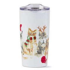 Holiday Cats Tumbler