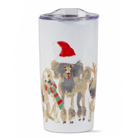 Holiday Dogs Tumbler