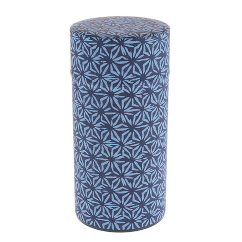 Japanese Washi Paper Indigo Hemp Tins