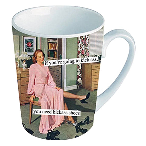 Kickass Shoes Mug