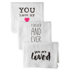 Love Notes Towels