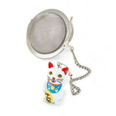 Lucky Cat Tea Ball