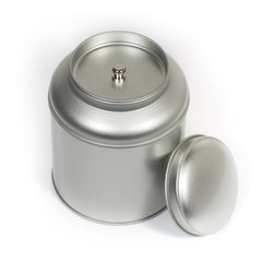 Round Tea Tin w/ Inner Lid