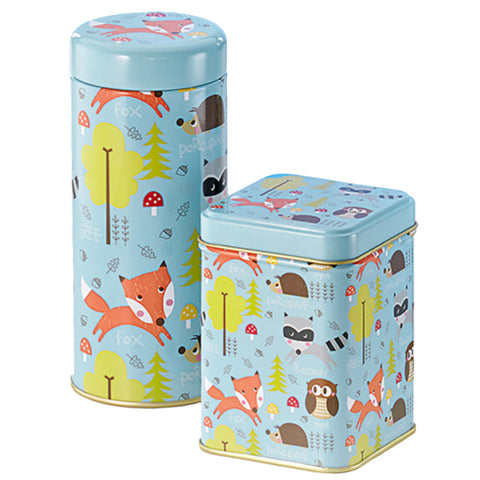Forest Animal Tin