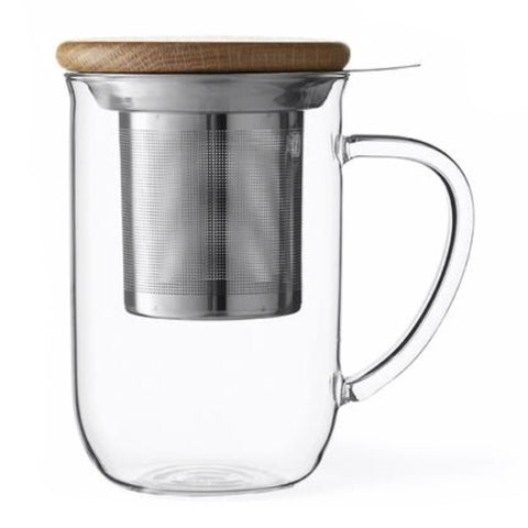 Glass Tea Cup with Infuser
