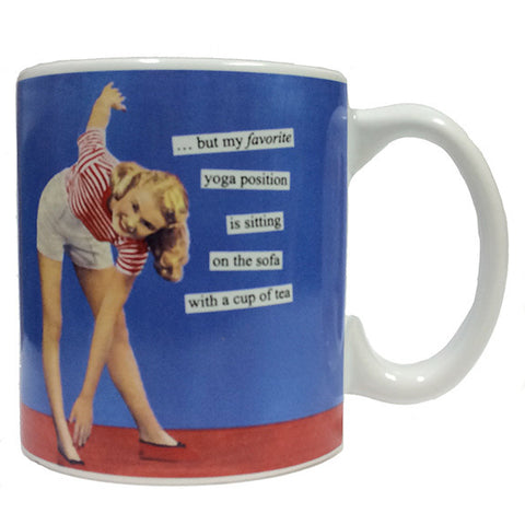 My Favorite Yoga Position Mug