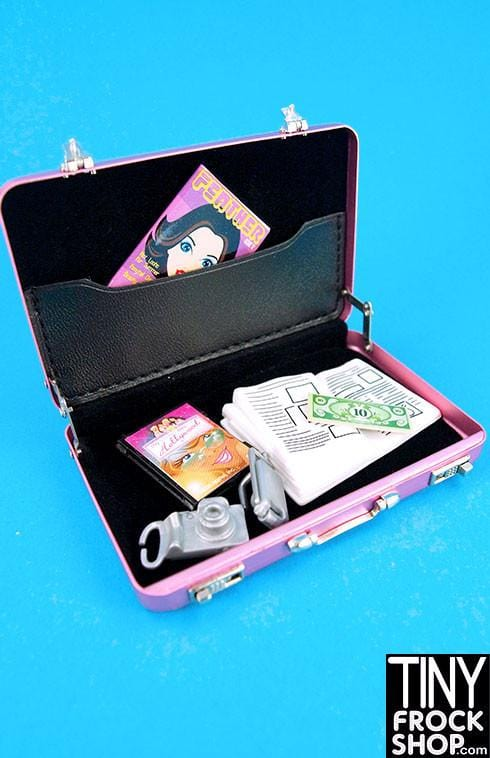 Barbie 007 Metal Briefcase w/ Working Latches - MORE COLORS~