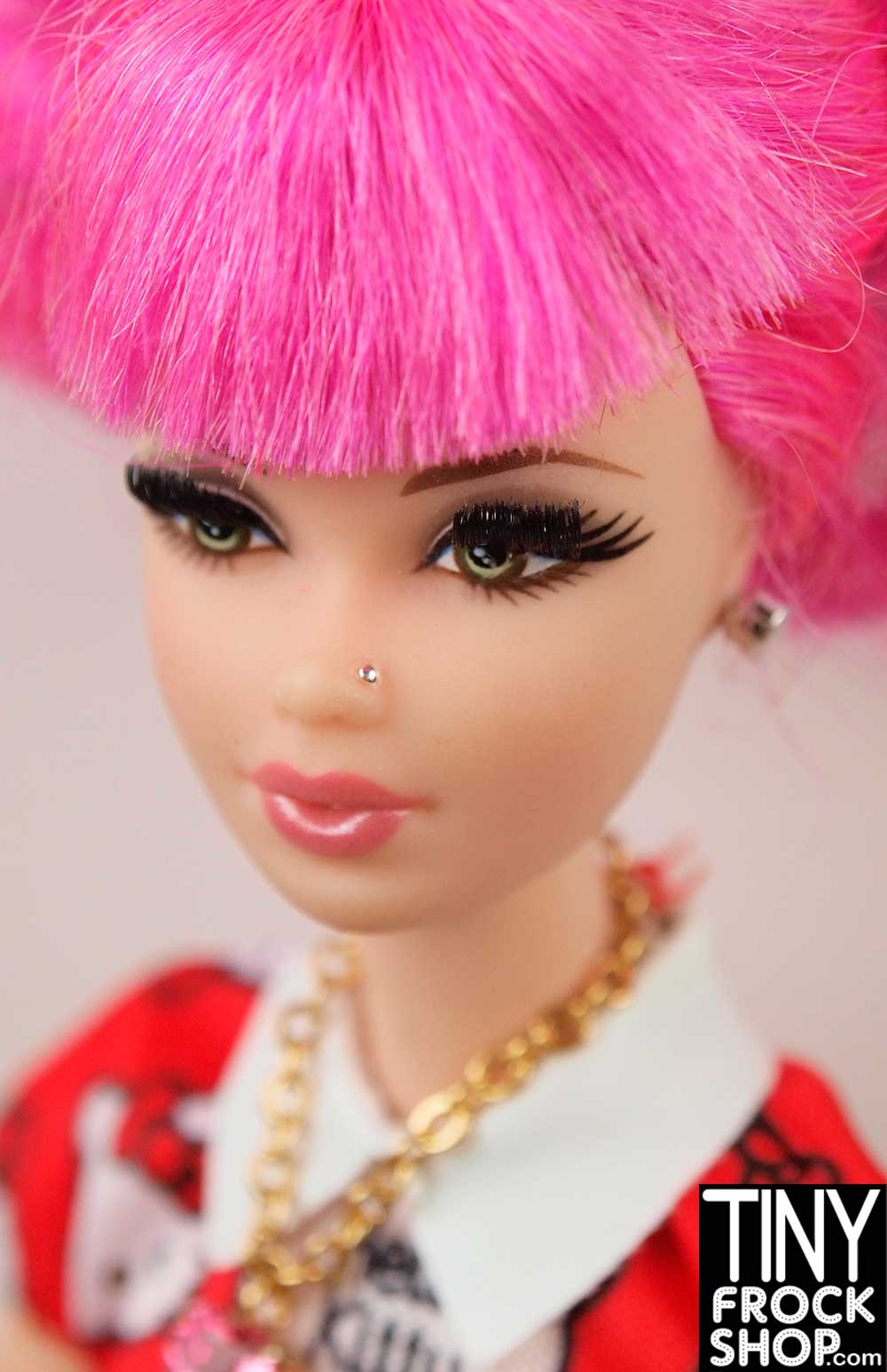 Tiny Frock Shop Barbie Small Metal Nose Stud Piercing Pack Of 6