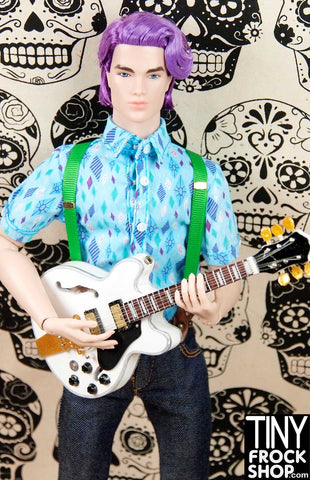 Barbie Alex Lifeson From Rush Guitar