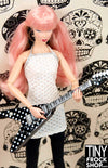 Barbie L-GM33 V Dot Guitar - TinyFrockShop.com