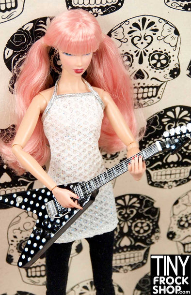 Barbie L-GM33 V Dot Guitar