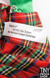 "16"" Gene Marshall Madra Plaid Outfit"