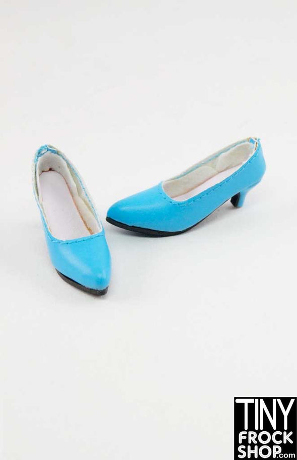 16 Inch Doll Blue Super Low Heels