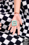 5mm - 3mm Barbie Candy Colored Super Mini Buckles - TinyFrockShop.com
