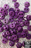 5MM - Barbie High Quality Resin TINY 2 Hole Buttons - 12 pcs - 12 COLORS!