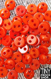 5mm - Barbie High Quality Super Small Resin Tiny 2 Hole Buttons - 12 pcs - Tiny Frock Shop