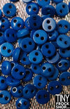 5MM - Barbie High Quality SUPER SMALL Resin TINY 2 Hole Buttons - 12 pcs - 12 COLORS! - Tiny Frock Shop