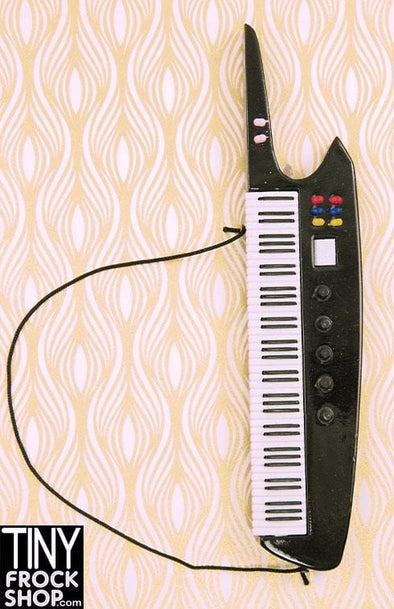 Barbie 80's Style Wood Keytar Keyboard - TinyFrockShop.com