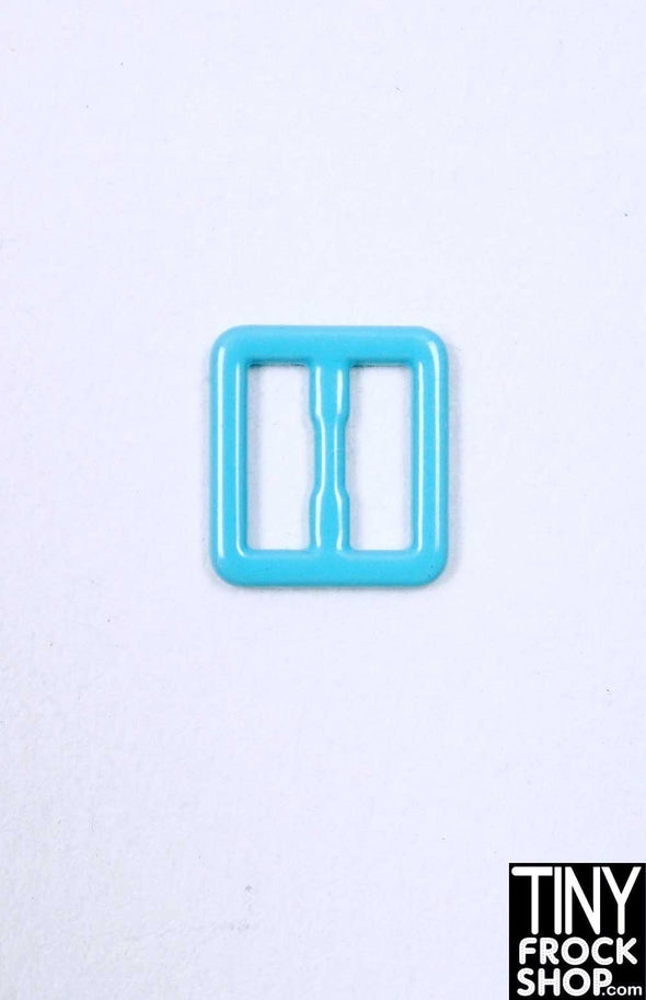 8mm - 5mm Barbie Candy Colored Small Buckles - TinyFrockShop.com