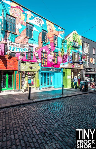 A-195 Barbie Photography Backdrop - Wide - Dublin Ireland