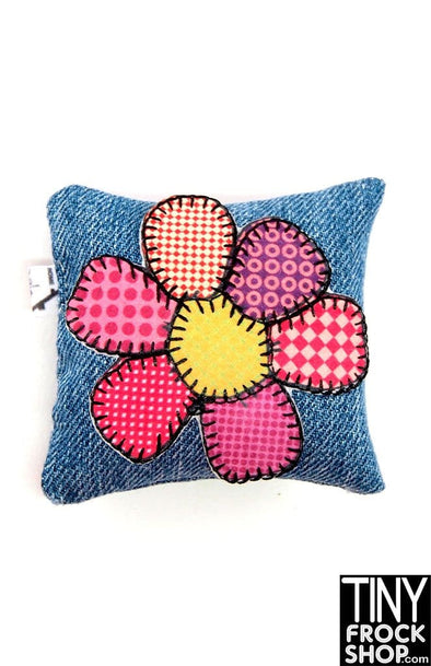 Barbie Hippy Flower Pillow by Dress that Doll