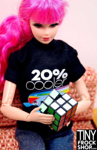 Barbie Worlds Smallest Rubiks Cube - TinyFrockShop.com