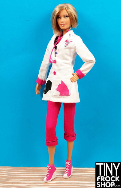 Barbie Avastars Pet Vet Outfit - 4 Pieces! - Tiny Frock Shop