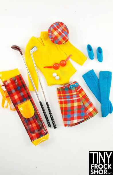 Barbie Vintage Golfing Greats 3413 Outfit