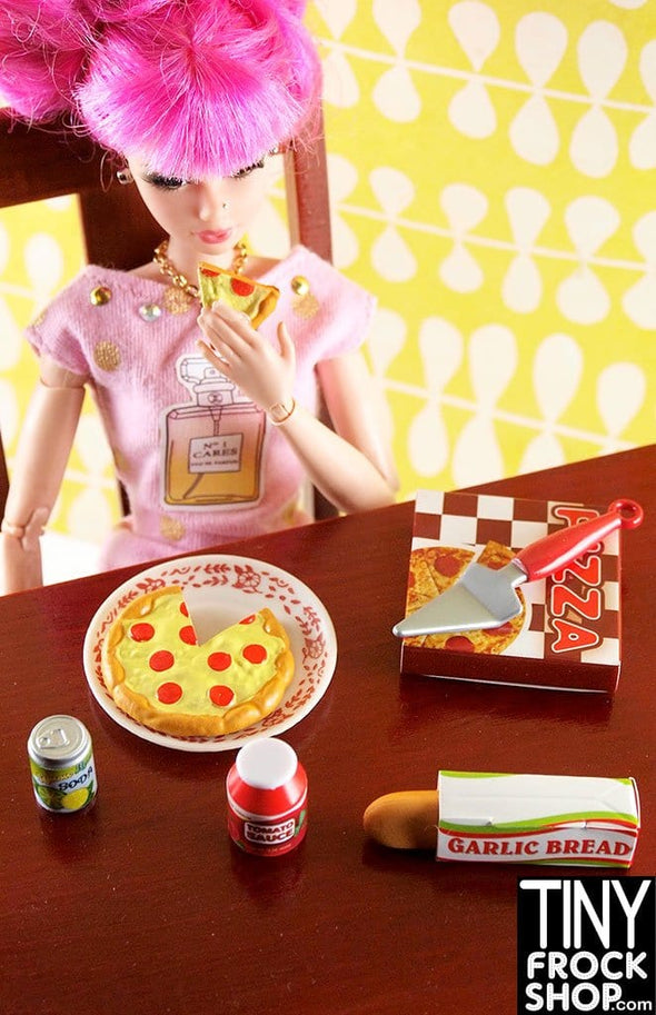 Barbie Italian Pizza Party Food Set - New - TinyFrockShop.com