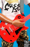 Ken or Barbie Avastars Red Star Guitar with Strap - TinyFrockShop.com
