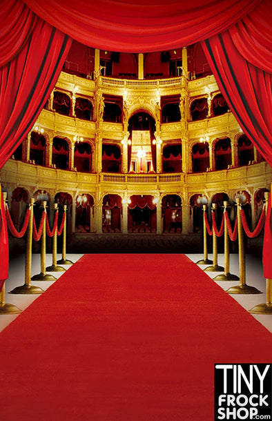 Barbie Photography Backdrop - Wide - Grand Opera House CM-4064