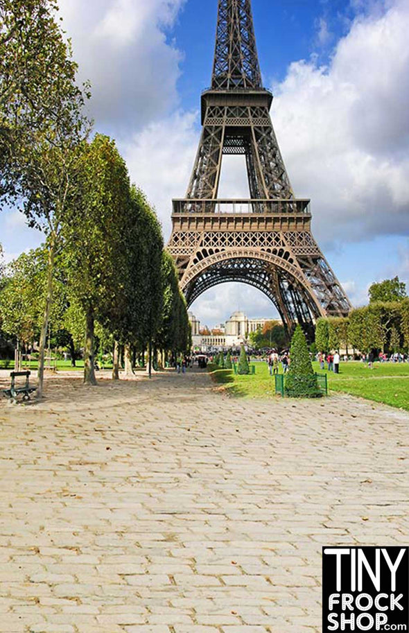 Barbie Photography Background - Standard - Under the Eiffel Tower CM-5878
