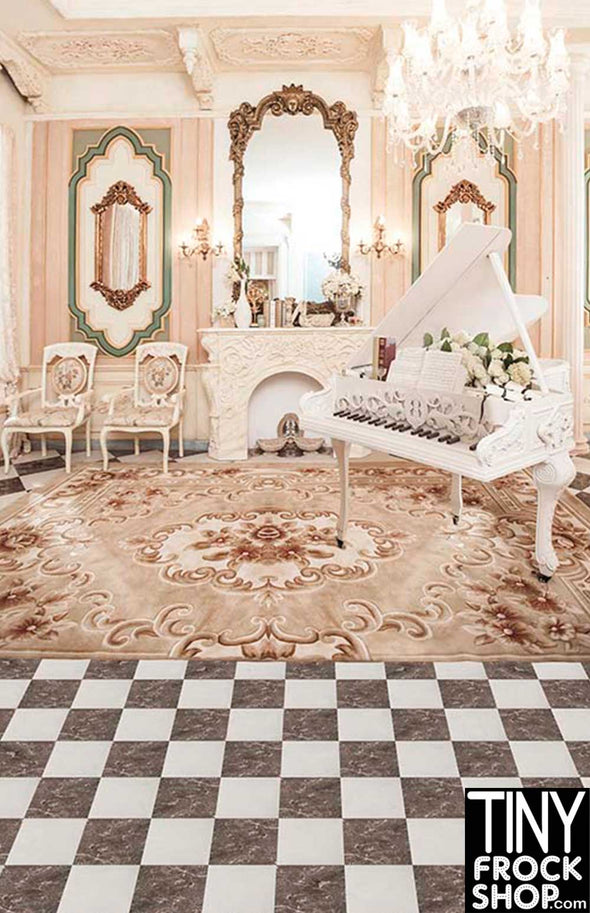 CM-6578 Barbie Photography Background - Wide - Grand Front Room