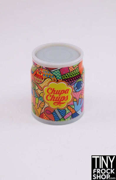 Zuru Mini Brands Chupa Chups Decorative Can Of Lollipops