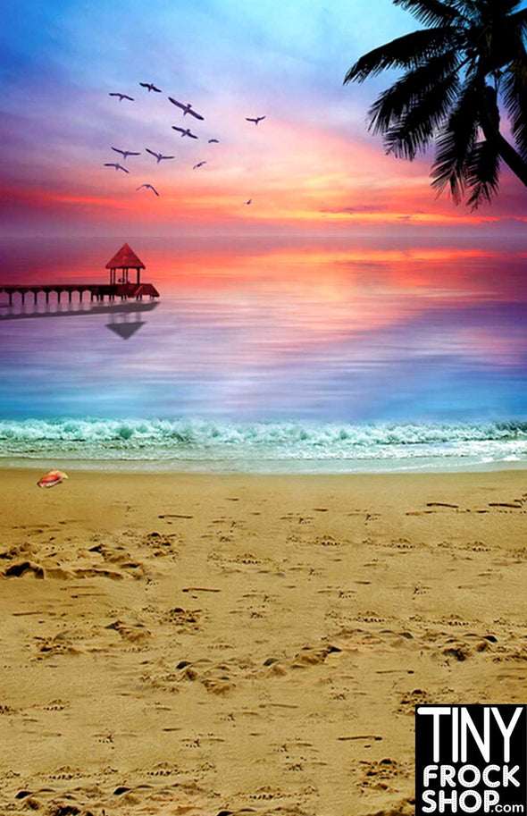 Barbie Photography Background -Standard - Perfect Sunset F-808