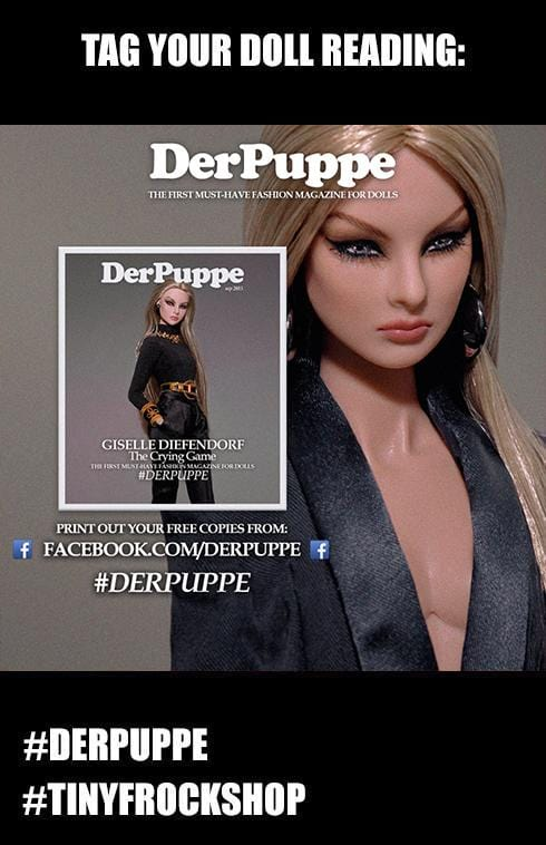 Tiny Frock Shop Barbie DerPuppe Fashion Magazine - ALL Issues! FREE